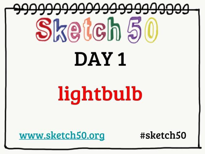 Sketch50 Daily Doodle Prompts